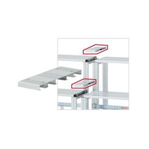 ジョイント段板 奥行400mm 4枚セット 送料無料 折りたたみ式アルミ製ひな段用 段板 オプション 単品ユニット 部品 学校 施設 設備 HD-JWS