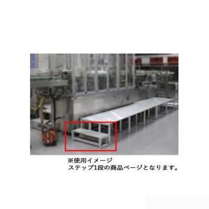 ステップ 1段 オプション 昇降用階段 ステージ用 折りたたみ式アルミ製ステージ用 階段 昇降 イベント 学校行事 教育施設 備品 設備 SYS1|lookit