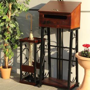 送料無料 傘立て 木製 装飾 かわいい おしゃれ シリーズ 70-7001|lookit