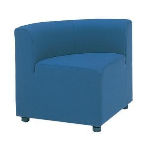 ロビーチェア 背付き アールコーナー 布張り コーナーチェア 椅子 システムソファ ラウンジチェア 劇場 銀行 組合せ アームレス LC-66F|lookit