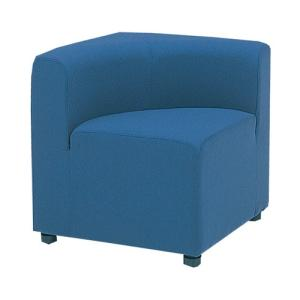 ロビーチェア 背付き 角コーナー 布張り 椅子 チェア コーナーチェア システムソファ ラウンジチェア 組合せ アームレス 劇場 LC-67F|lookit