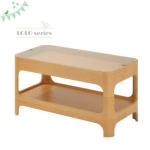 ★soldout★ センターテーブル 幅700mm 木製テーブル コーヒーテーブル ガラステーブル 机 北欧 おしゃれ リビング 49-LOL-265|lookit