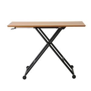 【最大1万円クーポン9/15〜19】リフティングテーブル 木製テーブル 高さ調節 木製家具 テーブル 机 つくえ ウォルナット 北欧 おしゃれ RLT-4516 送料無料|lookit