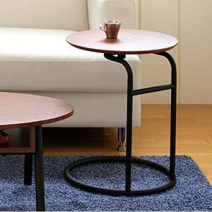 サイドテーブル 木製 コの字 ウォルナット 天然木 カフェ リビング テーブル ベッドサイドテーブル コーヒーテーブル カフェテーブル 送料無料 SST-230|lookit