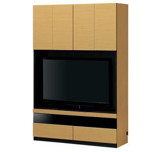 壁面収納 テレビ台 幅120cm テレビボード リビング収納 収納家具 収納付テレビ台 送料無料 POR-1812TV lookit