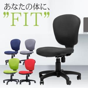 モールドウレタンスタンダードチェア 肘なし オフィスチェア 椅子 いす イス パソコンチェア デスクチェア シンプル 布張り 事務椅子 会社 書斎 学習椅子 M-501|lookit
