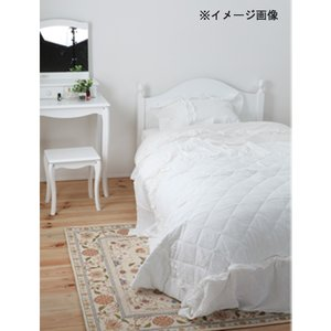 送料無料 姫系ベッド シングル ポケットコイルマットレス付き プリンセスベッド お姫様ベッド ロマンティック ホワイトフレーム ベッドルーム BCB30-S-P lookit