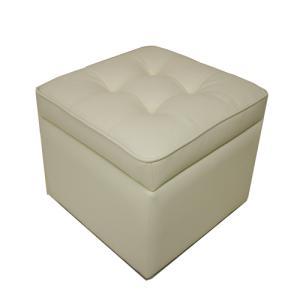 スツール 収納 ボックス キューブ 収納ボックス 背なしチェア 肘なしチェア 合成皮革張りスツール 椅子 チェア 子供部屋 1人暮らし リビング シンプル ST-009 lookit