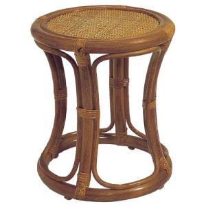 スツール 送料無料 籐椅子 ラタンチェア 木製チェア ラタンファニチャー ラタンスツール 腰掛け 軽量 天然素材 玄関 アジアン家具 温泉旅館 C415H lookit