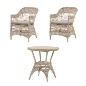 ガーデンセット テーブル チェア 椅子 イス いす 机 SET ガーデン用 家具 ファニチャー カフェテーブル アウトドア ガーデニング ガーデン 庭 C1801PWW T180PWW|lookit