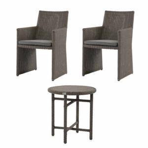 ガーデンセット テーブル チェア 椅子 イス いす 机 SET ガーデン用 家具 ファニチャー カフェテーブル アウトドア ガーデニング ガーデン 庭 C1901PGY T190PGY|lookit