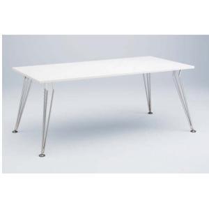 ミーティングテーブル 幅180×奥行90cm 送料無料 ホワイト 会議テーブル オフィステーブル ミーティングルーム テーブル 打ち合わせスペース オフィス 4L52AC|lookit