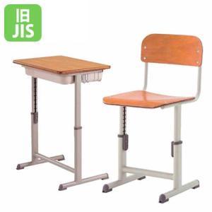学習机 学習椅子 セット 可動式 高さ 調節 学校机 学生机 メラミン化粧板 合板 旧JIS規格 学生イス スクールチェア 塾 スクールデスク 送料無料 G5AD-BK120-S2|lookit
