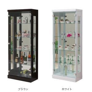 コレクションラック 送料無料 コレクションケース コレクションボード ガラスケース カップボード 食器棚 フォース60コレクション FORCE-60CR 【着日指定不可】|lookit