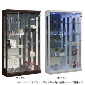 コレクションラック 送料無料 コレクションケース コレクター フィギュア ガラスケース 食器棚 ガラス棚 フォース90コレクション FORCE-90CR 【着日指定不可】|lookit