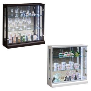 コレクションラック 送料無料 照明ケース LEDライト ガラスキャビネット ガラス棚 収納棚 飾り棚 ハスラー80コレクション HUSTLER-80CR 【着日指定不可】|lookit