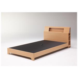 ベッドフレーム シングル 送料無料 ベッド 棚付きベッド 照明付きベッド 足元ライト付き 木製フレーム ミモザ Sフレーム(レッグ)MIMOSA-BHS 【着日指定不可】 lookit