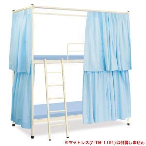 2段ベッド ベッド カーテン付き 医療用 TB-1160 送料無料|lookit