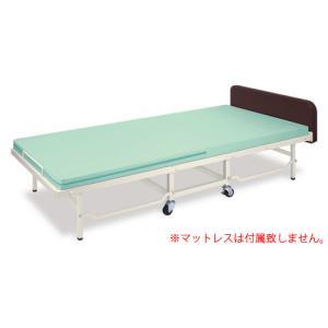 ベッドフレーム 折りたたみベッド 簡易 TB-1182 送料無料|lookit