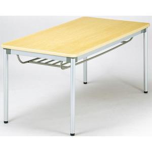 会議テーブル 棚付き 受付用 机 つくえ ASS-1275 送料無料 lookit