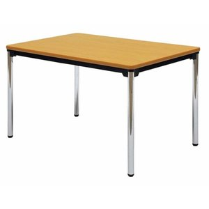 ★送料無料★ 会議テーブル 小型 スチール 学習塾 新商品 AT-1275SE lookit