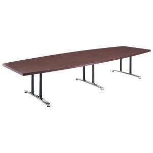 ★送料無料★ ミーティングテーブル DWL-3612B 高級 木目 幅3600 lookit