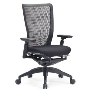エルゴノミクスチェア メッシュ ミドルバック 可動肘付 キャスター付 布張り 回転イス オフィスチェア エグゼクティブチェア 事務用椅子 R-5615 送料無料 lookit