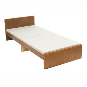 パネルベッド シングルパネルベッド おしゃれ セミシングル ベッド 幅90 収納 スタンダード 日本製 国産 Aタイプス 一人暮ら コンパクト SS 319-A|lookit