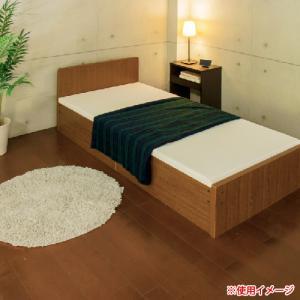 パネルベッド セミシングル OX収納 日本製 OX付 国産 フレーム インテリア 家具 寝室 お洒落 幅90 木製 収納 1人用 ナチュラル シンプル SS 319-D|lookit