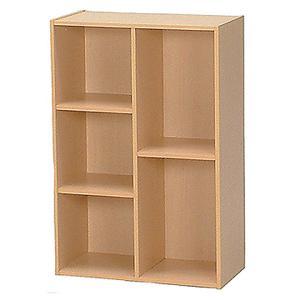 【最大1万円クーポン9/15〜19】本棚 カラーボックス 木製 たな 収納 マガジンスタンド FBC960|lookit
