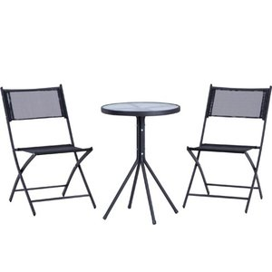 【先着で最大4千円OFFクーポン!6/25〜30】ガーデン3点セット チェアー テーブル KFSET-053|lookit