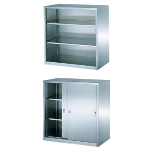 オープン書庫 引戸書庫 セット 保管庫 BSU-99PS2 lookit