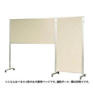 展示パネル 1800×900mm 縦横自在 パーテーション パーティション 掲示板 パネル 連絡板 衝立 間仕切り オフィス 両面 有孔ボード 日本製 AR306|lookit