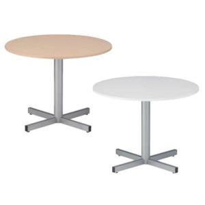 ラウンジテーブル リフレッシュテーブル ロビー 応接テーブル 会議用テーブル 丸形テーブル 打ち合わせ用 フードコート ミーティング オフィス RX-900N|lookit