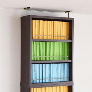 本棚 薄型 オープンラック 上置き 幅41.5 MEMORIA 棚板が1cmピッチで可動する 送料無料 FRM-0103|lookit