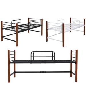 ロフトベッド シングルサイズ ミドルタイプ 天然木脚 シングルベッド 収納 寝室 一人暮らし ベッド IRI-1041 送料無料|lookit