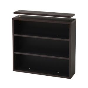 上置本棚 スリム 幅60 上置き棚 ブックシェルフ 壁面収納 1cmピッチ 薄型 おしゃれ 全3色 YHK-0215|lookit