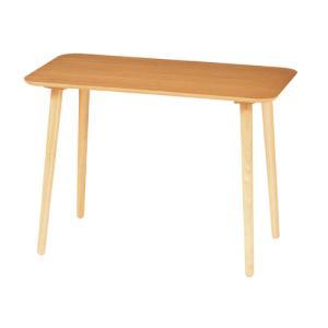 ハイテーブル 幅900×高さ640mm カウンターテーブル ハイタイプ 木製テーブル サイドテーブル 角型テーブル ナチュラル シンプル 北欧 HT900H|lookit