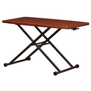 リフティングテーブル 昇降式テーブル ダイニングテーブル ローテーブル センターテーブル リビング 高さ調節 机 テーブル LFT-TK1200|lookit