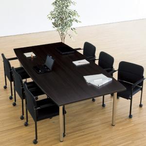 【法人限定】 6人用ミーティングセット 机 椅子 会議 OTF-2412S lookit