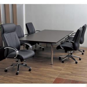 【法人限定】 6人用 ミーティングセット 7点 テーブル チェア セット ミーティングチェア 会議セット 会議テーブル 会議椅子 OTK-2412S32 lookit
