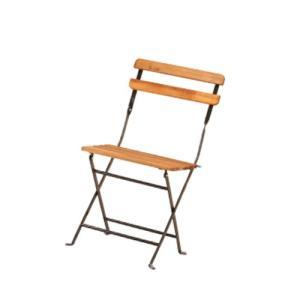 折りたたみチェア フォールディングチェア ガーデン家具 椅子 木製チェア ベランダ テラス 半屋外対応 カフェ 飲食店 家庭用 PRE-C42|lookit