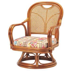 ★57%OFF★ ラタンチェア R-290S 回転式 いす 椅子 イス ソファ|lookit