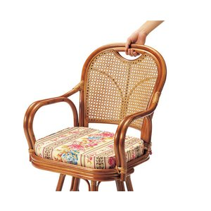 ラタンチェア R-A200 アームチェア 椅子 いす イス|lookit