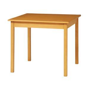 ダイニングテーブル 幅800mm 正方形 木製テーブル 食卓 シンプル テーブル 机 サンディ シリーズ ダイニング家具 ナチュラル 北欧 おしゃれ SDY-DT8080|lookit
