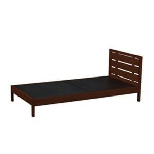 木製ベッド ベッドフレーム 木製フレーム シングルサイズ ベッド シングルベッド シンプル モダン 寝室 子供部屋 寝具 WBD-M01BR|lookit