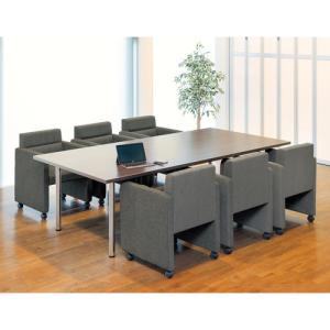 【法人限定】 応接セット テーブル チェア 椅子 接客用 ラウンジ 打ち合せ 会議室 待合室 日本製 ZC-590S lookit