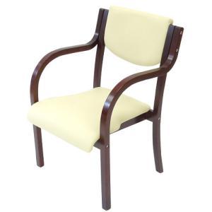 【訳あり】ダイニングチェア 1人用 【完成品】 カフェチェア 木製  座面高42.5cm 木製椅子 肘付き PVC座面 スタッキングチェア 北欧風 ロビー用 椅子 LDCH-2-OUT|lookit