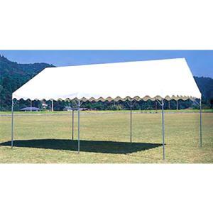 テント 中折れ式 3600×5400mm 屋外店舗 タープテント バザー 市場 施設 教育施設 運動施設 日本製 S-0518|lookit