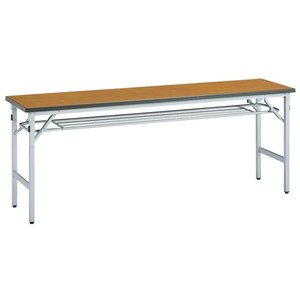 折り畳み会議テーブル HS-1860A シルバー セミナー lookit